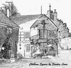 Sketch of Chilham Square